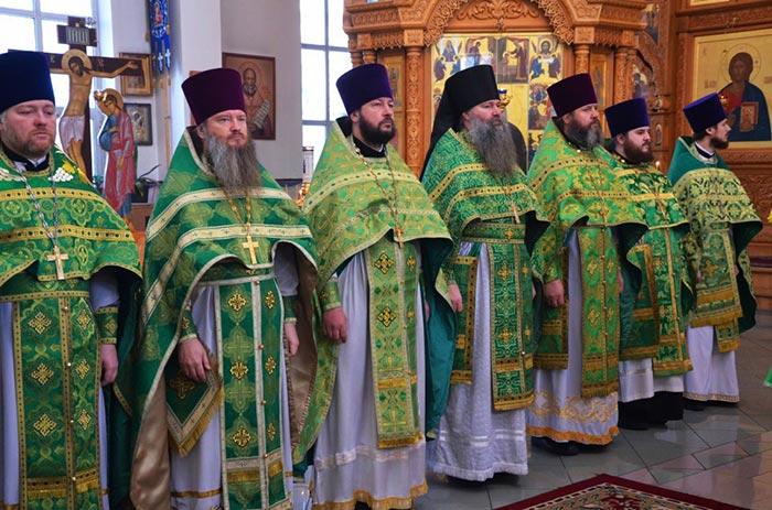 Служение Ректора: день памяти преподобного Геннадия Костромского и Любимоградского